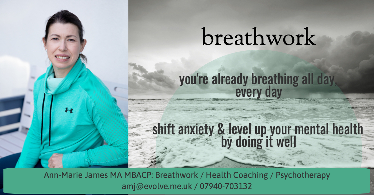 Online Breathwork Coaching for anxiety now available